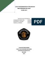 analisis Pengembangan Organsiasi Studi Pada Mie Kudusan Malang