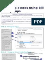 Managing Access Using BID Groups