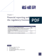 Financial Reporting and Regulatory Framework