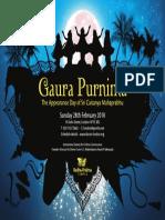 Gaura Purnima 2010