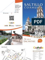 Saltillo Mapa Turistico