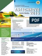 Astechnova 2015 Poster