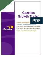 Gazelles Growth Tools