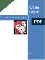 Software Estimation Inside Out
