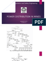 Mine Power Distribution