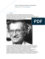 Chomsky N Puede La Civilizacion Sobrevivir Al Capitalismo