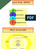 4 manag tools ---  PEST.ppt