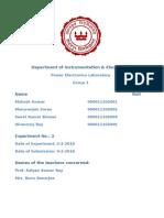 Department of Instrumentation & Electronics