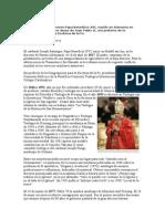 Biografia Del Papa Benedicto Xvi Ratzinger.doc