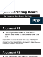 Jam Marketing Board Science Fact or Fiction