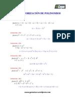 Factorizacion  de Polinomios