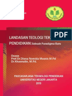 Landasan Teologi Teknologi Pendidikan Sebuah Paradigma Baru