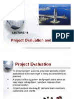 Lecture 11 - Project Evaluation and Closure