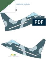 Styrofoam Airplane Pattern