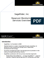 Reservoir Monitoring Services Presentation July 2014