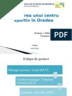 Proiect Centru Sportiv POR 2014-2020 AxaP 2