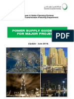 Power Supply Guidelines for Major Project June 2014