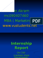 138336905 Internship Report of Marketing