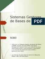 PRE4 - Sistemas Gestores de Bases de Datos (1)