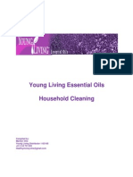 Household Cleaning Using Young Living Oils