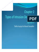 IDS -Chapter2 Types of IDS