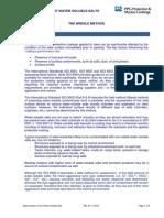 Water-soluble Salts on Substrate - Bresle Method