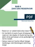 Bab 6. Dam Dan Reservoir