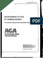 AGA 7 - Turbine Meter 1984