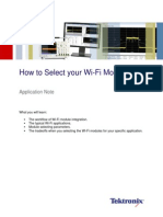 App Note - How to Select WiFi Module