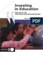 Investing in Education Analysis of the 1999 World Education Indicators