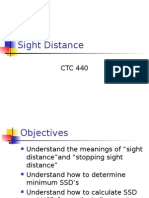 Sight Distance