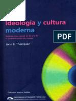 Ideologia y Cultura Moderna
