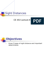 08 Stopping Sight Distance