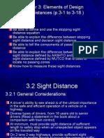 Ch3 Sight Distances p109-130