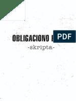 OBLIGACIJE - Perovic Skripta 174str