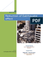 Earthquake Risk Reduction