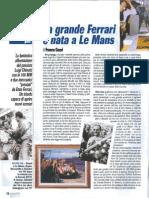 La grande Ferrari è nata a Le Mans