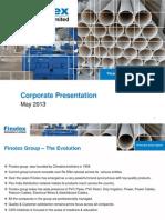 Corporate Presentation March 2013 FINOLEX IMPP