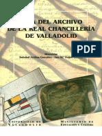 Guía del Archivo de la Real Chancillería de Valladolid