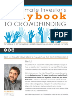Ultimate Investors Playbook to Crowdfunding