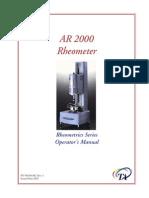 AR2000 Manual
