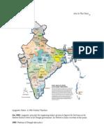 Timeline Indian States
