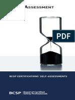 BCSP Self Assessment