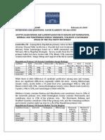 Magellan New Hampshire Senate-Governor Republican Primary Automated Survey Release 020810