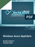 CLO305 - Windows Azure AppFabric