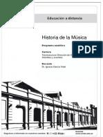 Programa - Historia de La Música-1C 2015