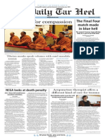 The Daily Tar Heel for May 21, 2015