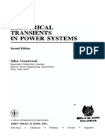 Electrical Transients in Power Systems - Allan Greenwood
