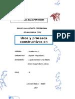 Usos y Procesos Constructivos de Puertas en Madera y Aluminio