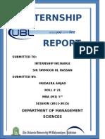 ublbankinternshipreport-140203103141-phpapp01